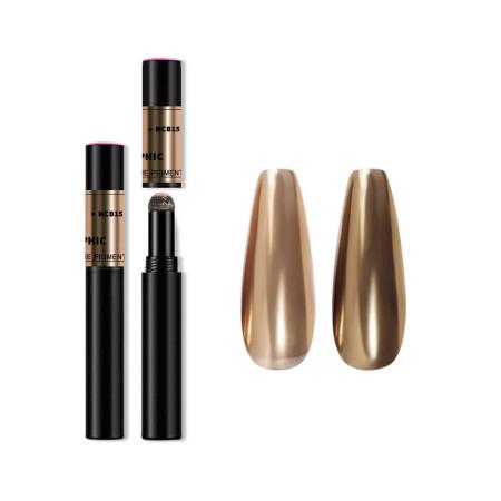 Zdobiace leštiace pero Mirror Magic pen - zlaté NechtovyRAJ.sk - Daj svojim nechtom všetko, čo potrebujú