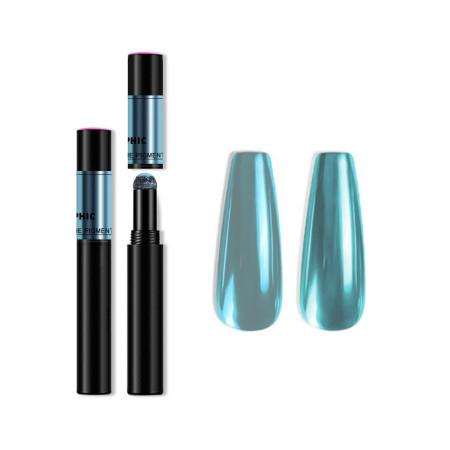Zdobiace leštiace pero Mirror Magic pen - tyrkysové NechtovyRAJ.sk - Daj svojim nechtom všetko, čo potrebujú