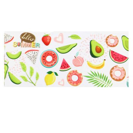 Transfér fólia fruit 09 100cm NechtovyRAJ.sk - Daj svojim nechtom všetko, čo potrebujú