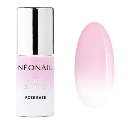 Gél lak Neonail Baby Boomer Rose Base 7,2 ml NechtovyRAJ.sk - Daj svojim nechtom všetko, čo potrebujú