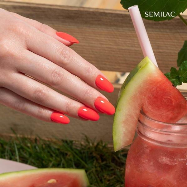 Semilac - gél lak 570 Neon Watermelon 7ml NechtovyRAJ.sk - Daj svojim nechtom všetko, čo potrebujú