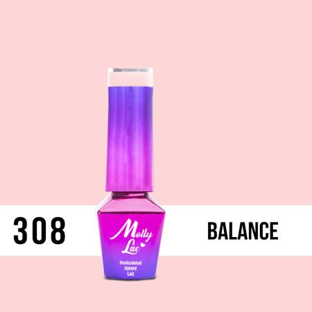 308. MOLLY LAC gél lak - Balance 5ml