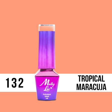 132. MOLLY LAC gél lak - Tropical Maracuja 5ML