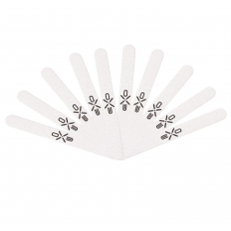 EXO pilník na nechty zebra rovný 10ks 100/180 NechtovyRAJ.sk - Daj svojim nechtom všetko, čo potrebujú