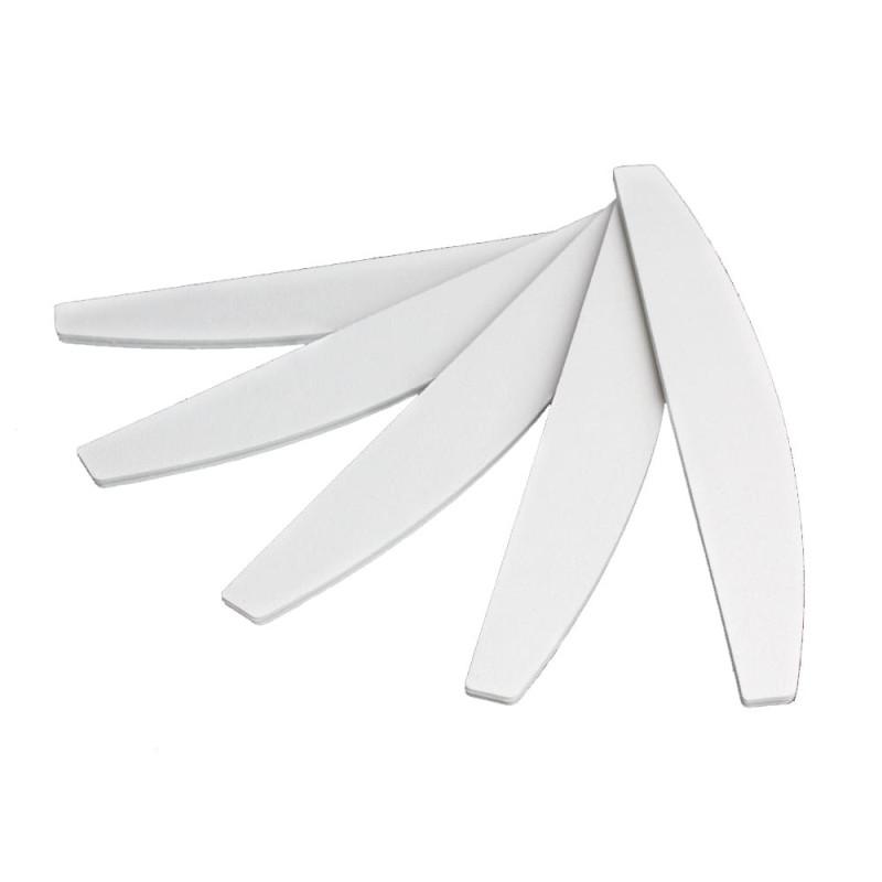 Pilník na nechty biely lodička 80/80
