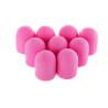 Brúsne klobúčiky ružové 10ks zrnitosť 180 primer 13mm NechtovyRAJ.sk - Daj svojim nechtom všetko, čo potrebujú