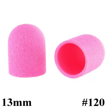 Brúsne klobúčiky ružové 10ks zrnitosť 120 primer 13mm NechtovyRAJ.sk - Daj svojim nechtom všetko, čo potrebujú