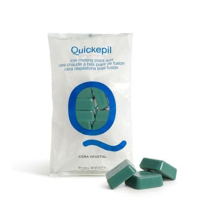Quickepil bezpáskový vosk na depiláciu zelený 1kg NechtovyRAJ.sk - Daj svojim nechtom všetko, čo potrebujú