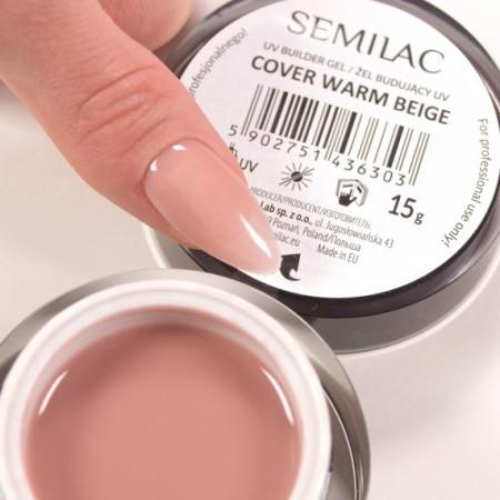 Semilac Builder Gel Cover Warm Beige