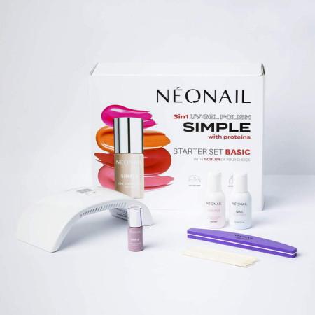 Sada na gél lak NeoNail® SIMPLE One Step BASIC 2 NechtovyRAJ.sk - Daj svojim nechtom všetko, čo potrebujú