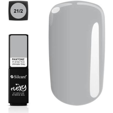 Silcare gél lak Flexy Pantone Grey 4,5g