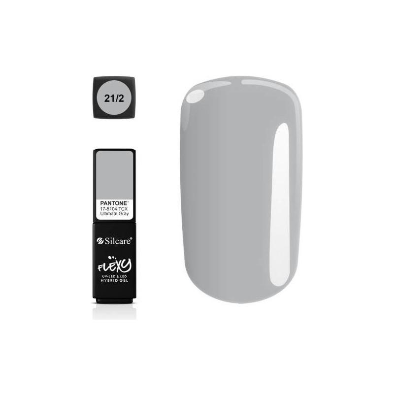 Silcare gél lak Flexy Pantone Grey 4,5g NechtovyRAJ.sk - Daj svojim nechtom všetko, čo potrebujú