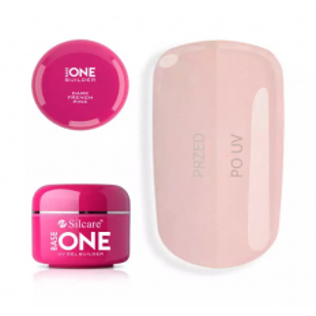 Base one UV gél French Dark Pink 5g NechtovyRAJ.sk - Daj svojim nechtom všetko, čo potrebujú