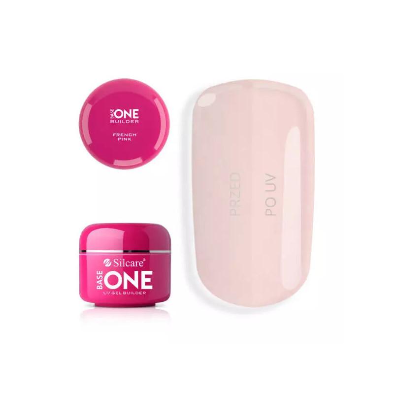 Base one UV gél French Pink 30 g NechtovyRAJ.sk - Daj svojim nechtom všetko, čo potrebujú
