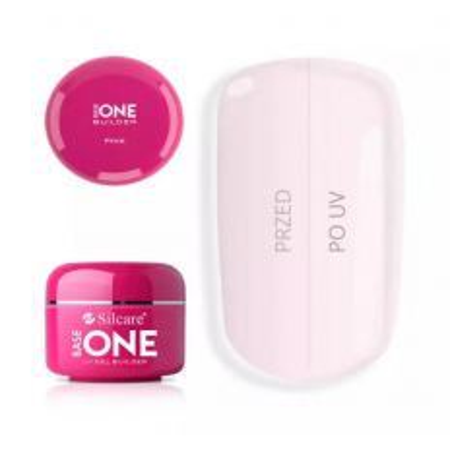 UV gél Base one Pink 100 g NechtovyRAJ.sk - Daj svojim nechtom všetko, čo potrebujú
