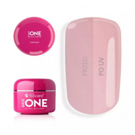 Base one UV gél Cover - kamufláž,make up 100 g