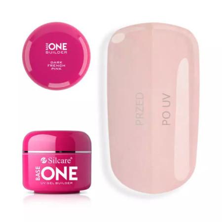 Base one UV gél French Dark Pink 100 g NechtovyRAJ.sk - Daj svojim nechtom všetko, čo potrebujú