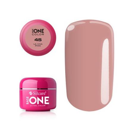 Nové - Base one farebný gél 45 la viva pink 5g