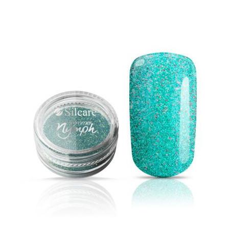 Silcare Shimmer Nymph - Diamantový prášok - Turquoise NechtovyRAJ.sk - Daj svojim nechtom všetko, čo potrebujú