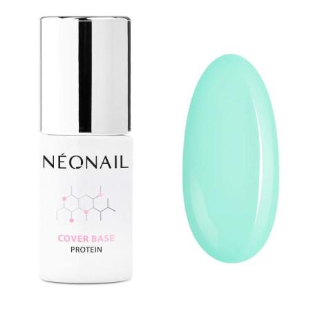 NeoNail® báza Cover Base Protein - Pastel Green 7,2ml NechtovyRAJ.sk - Daj svojim nechtom všetko, čo potrebujú