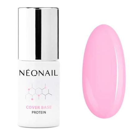 NeoNail® báza Cover Base Protein - Pastel Rose 7,2ml NechtovyRAJ.sk - Daj svojim nechtom všetko, čo potrebujú