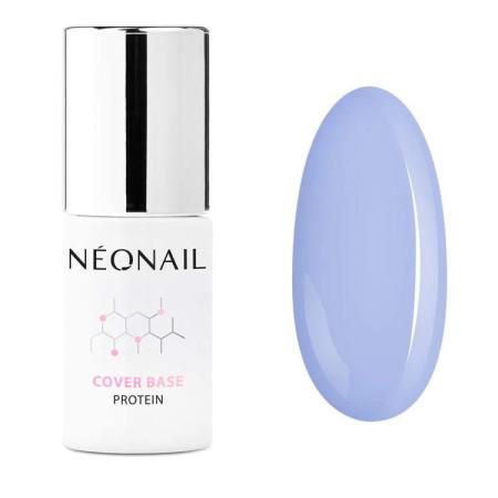 NeoNail® báza Cover Base Protein - Pastel Blue 7,2ml NechtovyRAJ.sk - Daj svojim nechtom všetko, čo potrebujú