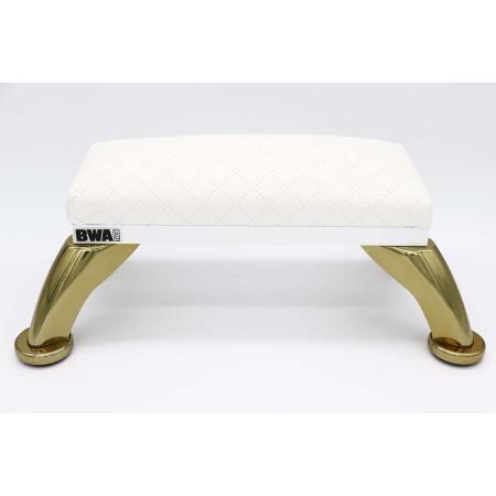 BWA biela podložka pod ruky - zlaté nohy NechtovyRAJ.sk - Daj svojim nechtom všetko, čo potrebujú