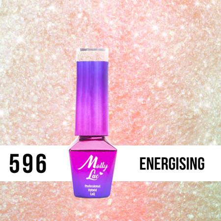596. MOLLY LAC gél lak - Energising 5 ml