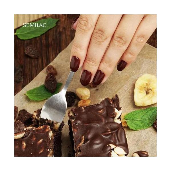 Semilac - gél lak 403 Chocolate Brownie 7ml NechtovyRAJ.sk - Daj svojim nechtom všetko, čo potrebujú
