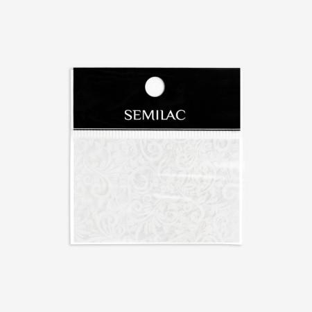 13 Semilac transfér fólia White Lace NechtovyRAJ.sk - Daj svojim nechtom všetko, čo potrebujú