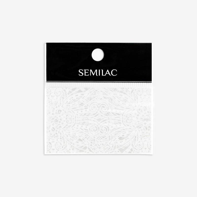 15 Semilac transfér fólia White Lace NechtovyRAJ.sk - Daj svojim nechtom všetko, čo potrebujú