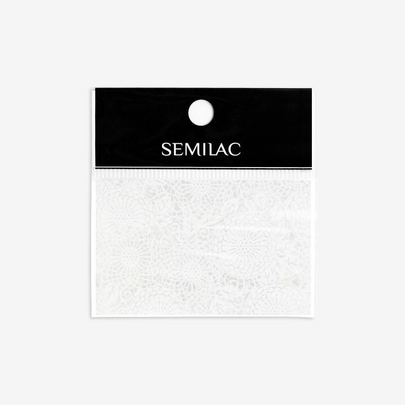 14 Semilac transfér fólia White Lace NechtovyRAJ.sk - Daj svojim nechtom všetko, čo potrebujú