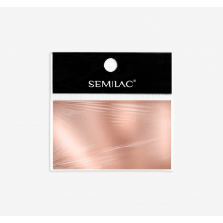03 Semilac transfér fólia Rose Gold
