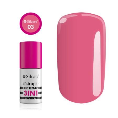 Silcare gél lak 3v1 Pink Coral 6,5g NechtovyRAJ.sk - Daj svojim nechtom všetko, čo potrebujú