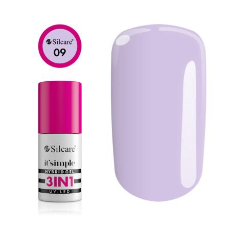 Silcare gél lak 3v1 Lilac Shell 6,5g NechtovyRAJ.sk - Daj svojim nechtom všetko, čo potrebujú