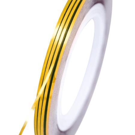 NeoNail zdobiaci pásik zlatý holografický NechtovyRAJ.sk - Daj svojim nechtom všetko, čo potrebujú