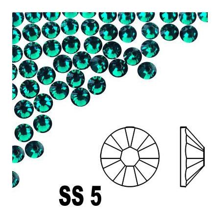 A La Swarovski SS 5 - Emerald 50 ks NechtovyRAJ.sk - Daj svojim nechtom všetko, čo potrebujú