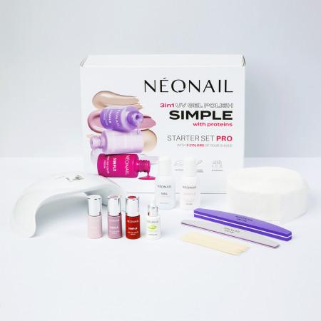 Sada na gél lak NeoNail® SIMPLE One Step PRO 2 NechtovyRAJ.sk - Daj svojim nechtom všetko, čo potrebujú
