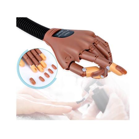 Pohlyblivá cvičná ruka + 100ks náhradné tipy NechtovyRAJ.sk - Daj svojim nechtom všetko, čo potrebujú