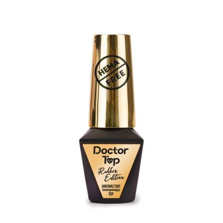 Molly Lac Rubber Doctor Top coat-bezvýpotkový 10 ml NechtovyRAJ.sk - Daj svojim nechtom všetko, čo potrebujú