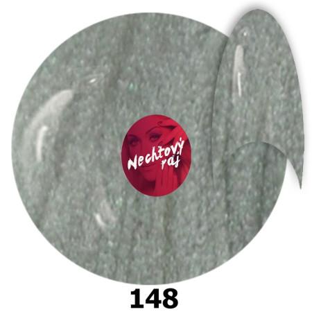 Metalický Gél lak 148 - strieborný