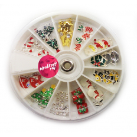 3D vianočné ozdoby 36 ks NechtovyRAJ.sk - Daj svojim nechtom všetko, čo potrebujú