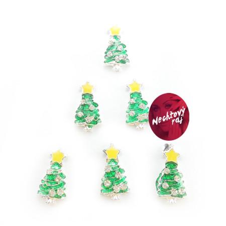 3D stromčeky  6 ks žltá hviezda