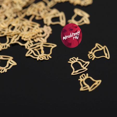 Zlaté zvončeky 50 ks
