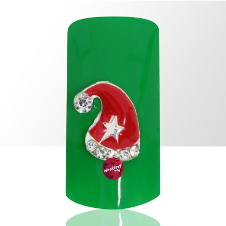 3D čapica Santa Claus 1 ks