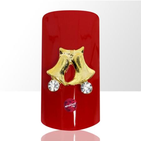 3D zvončeky 1 ks NechtovyRAJ.sk - Daj svojim nechtom všetko, čo potrebujú