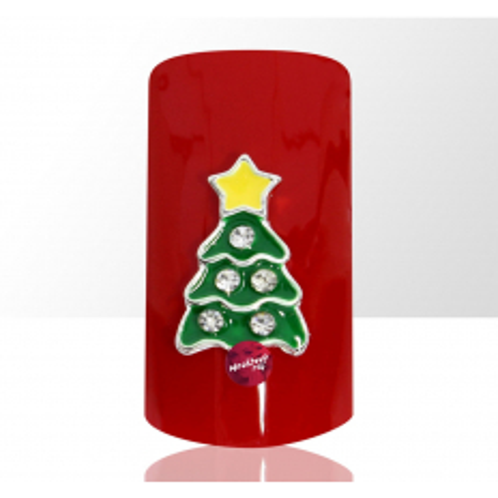 3D stromčeky 1 ks žltá hviezda NechtovyRAJ.sk - Daj svojim nechtom všetko, čo potrebujú