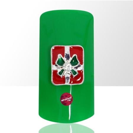 3D darček červený 2 ks