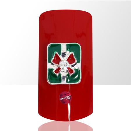 3D darček zelený 1 ks NechtovyRAJ.sk - Daj svojim nechtom všetko, čo potrebujú