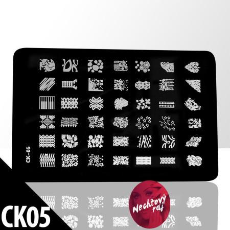 Doštička M typ CK05